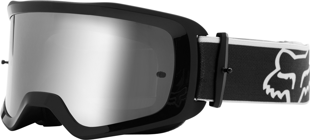 FOX Main Oktiv Spark Tear-Off Motocross Brille, schwarz, schwarz