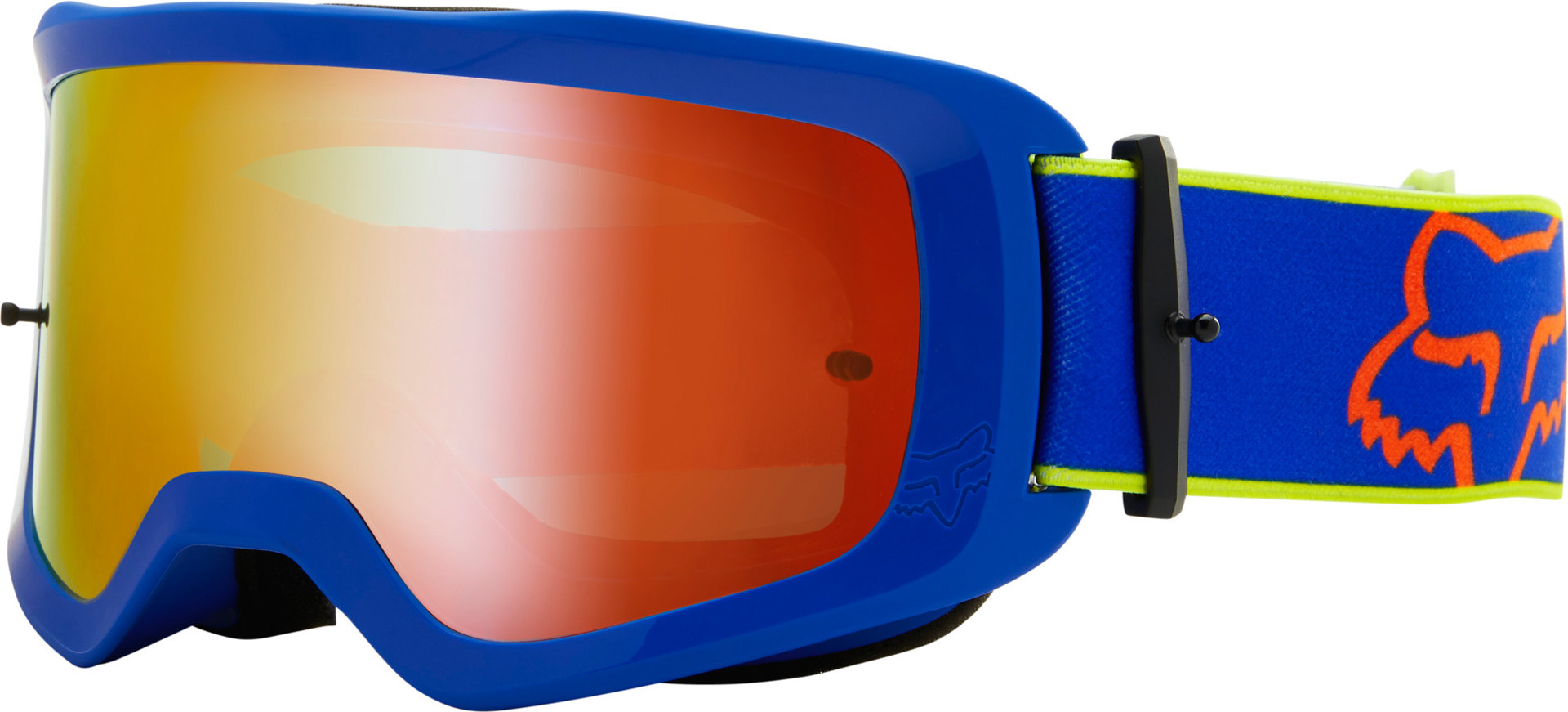 FOX Main Oktiv Spark Tear-Off Motocross Brille, blau, blau