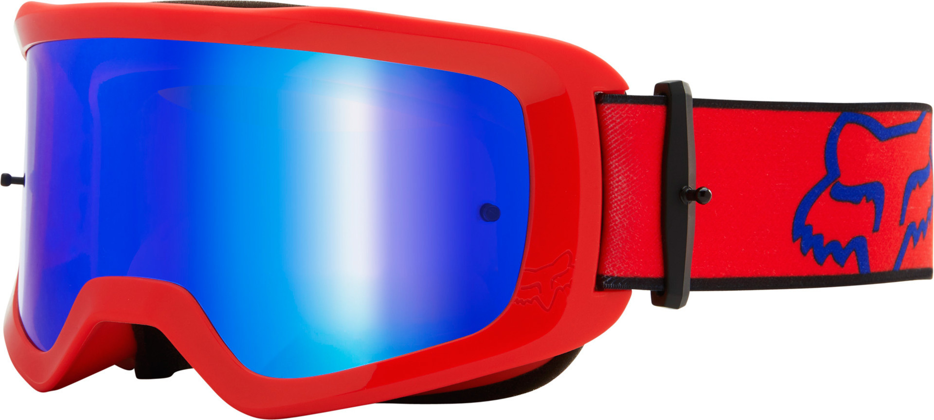 FOX Main Oktiv Spark Tear-Off Motocross Brille, rot, rot