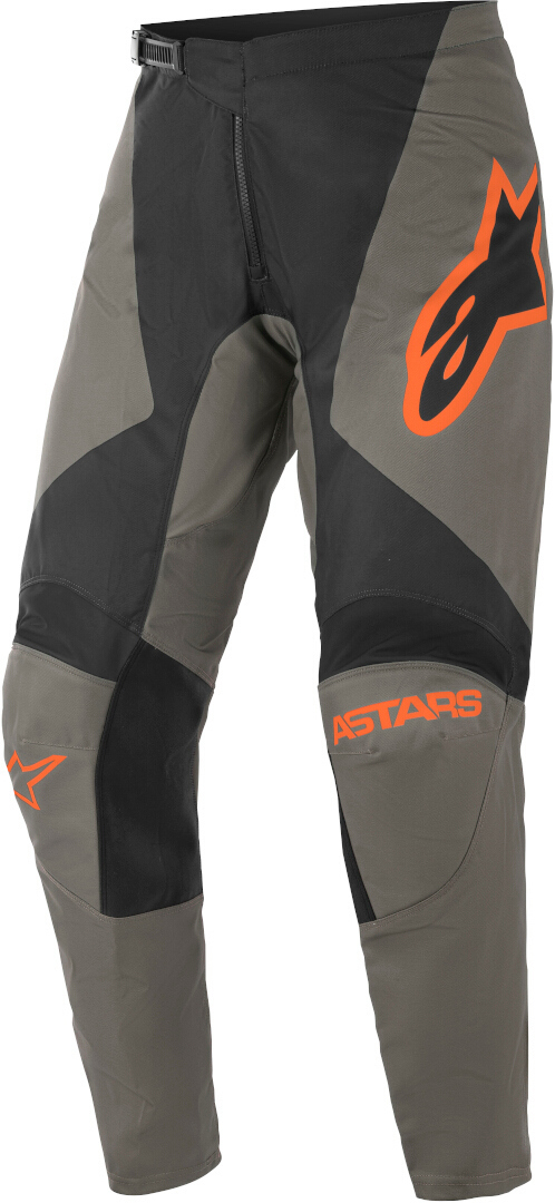 Alpinestars Fluid Speed Motocross Hose, grau-orange, Größe 28, grau-orange, Größe 28