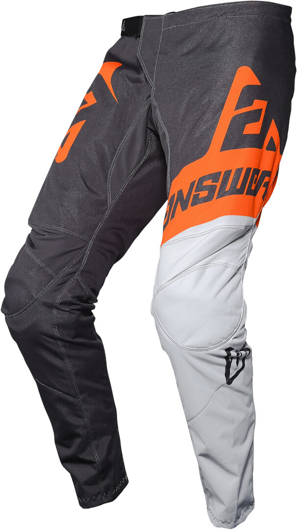 Answer Syncron Voyd Jugend Motocross Hose, schwarz-weiss-orange, Größe M, schwarz-weiss-orange, Größe M