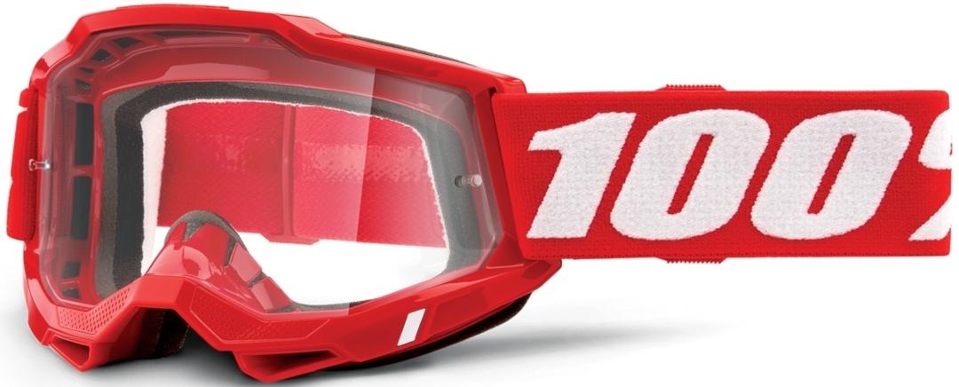 100% Accuri II Motocross Brille, rot, rot RC Modellbau