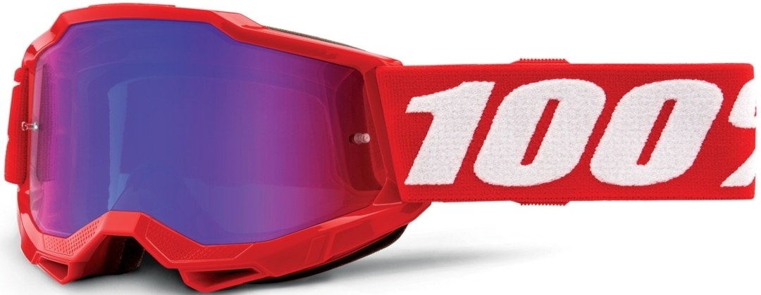 100% Accuri II Extra Jugend Motocross Brille, weiss-rot, weiss-rot RC Modellbau