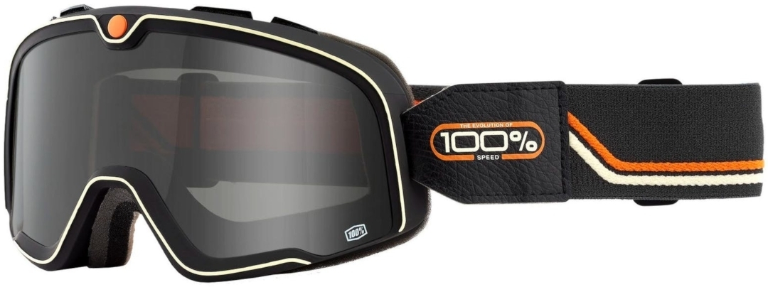 100% Barstow Team Speed Motocross Brille, schwarz-orange, schwarz-orange
