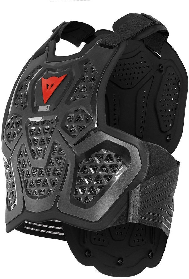 Dainese MX3 Roost Guard Protektorenweste, schwarz, Größe 2XS XS S M, schwarz, Größe 2XS XS S M