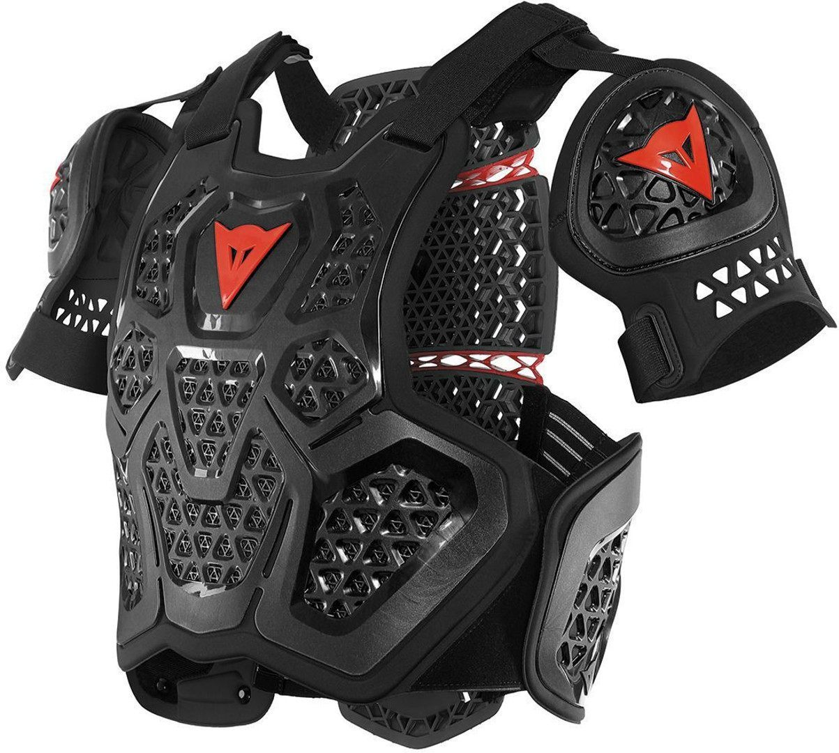 Dainese Dainese MX1 Roost Guard Protektorenweste, schwarz, Größe 2XS XS S M, schwarz, Größe 2XS XS S M