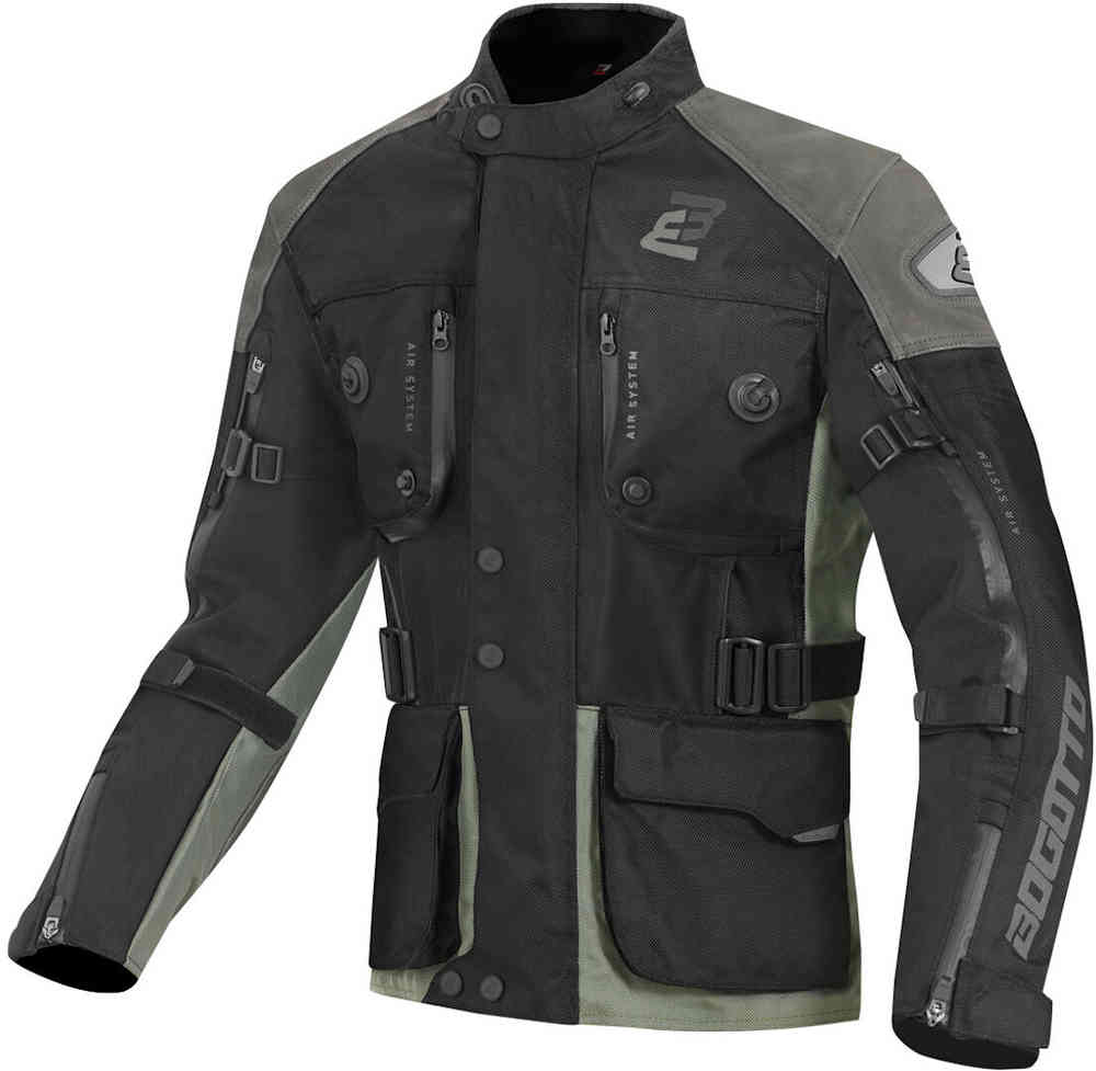 Bogotto Explorer-Z Waterproof Motorcycle Leather- / Textile Jacket