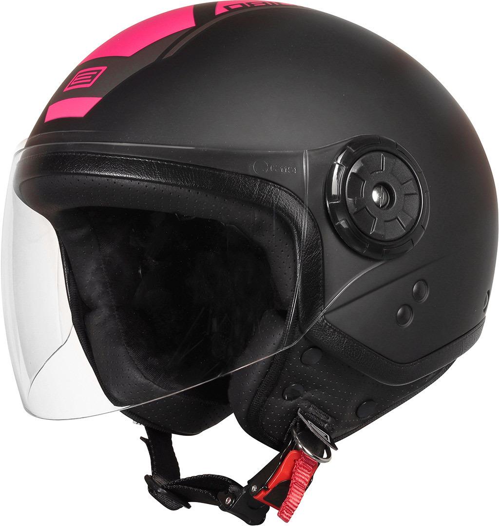 Origine Neon Scoop De Helm van de straal, zwart-pink, afmeting XL