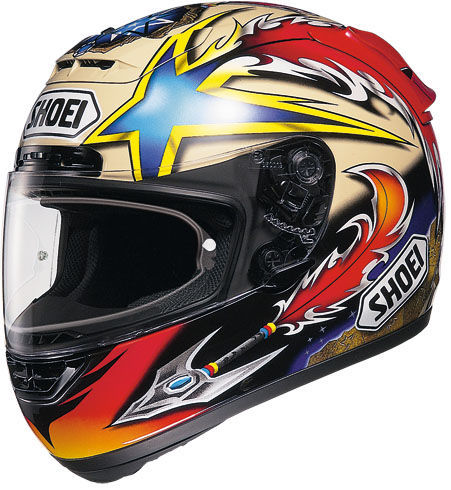 SHOEI X-Spirit Norick TC-1