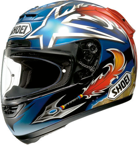 SHOEI X-Spirit Norick TC-2