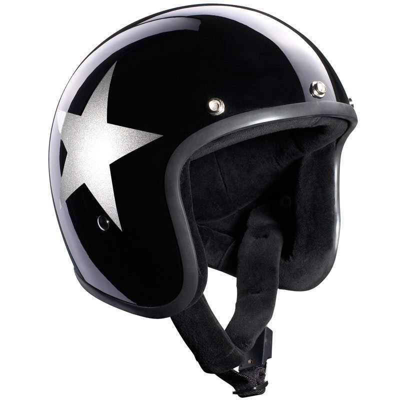 Bandit Jet Star Black Casco Jet