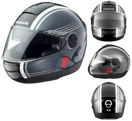 Schuberth C2 Anthracite Dekor