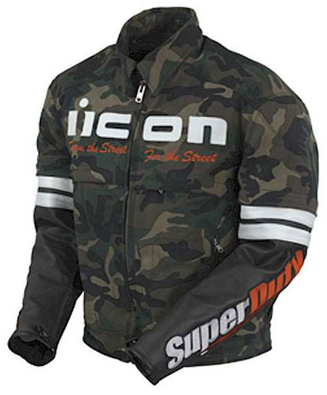 Icon Superduty Skinn/tekstil jakke