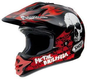 SHOEI V-Moto Metal Mulisha TC-1